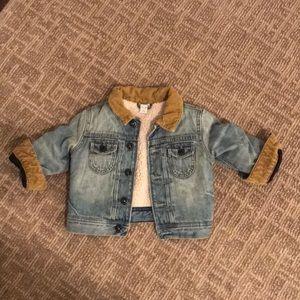 Gap Baby Sherpa-Lined Denim Jacket